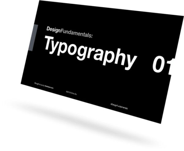 [DOWNLOAD] Chris Do - Typography 01
