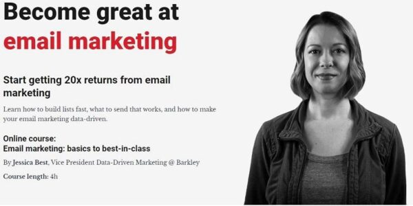 [HOT] CXL - Email marketing from basics to best-in-class