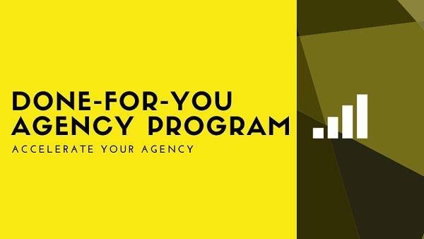 Tyler Narducci - The Done for you Agency